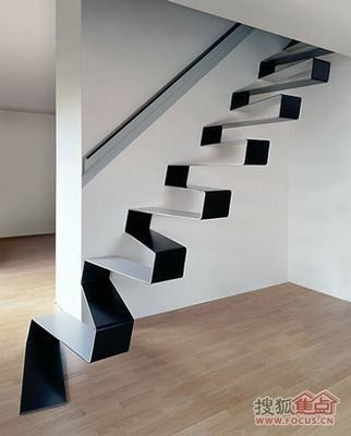 楼梯创意太给力,颜色搭配要hold住