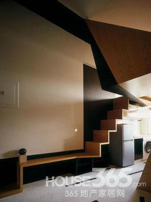复式楼梯装修效果图 个性品质家装 二