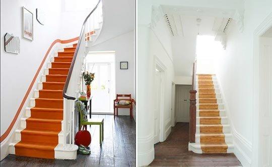 營造簡約洗手臺 樓梯空間利用妙招:竟然是個衛生間呢!