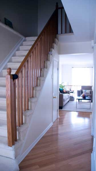 如何设计楼梯扶手和栏杆的颜色?