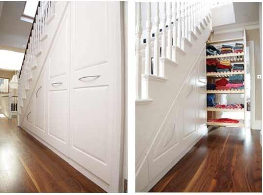 灵感:在楼梯下储物柜-上海楼梯|实木楼梯|楼梯|别墅